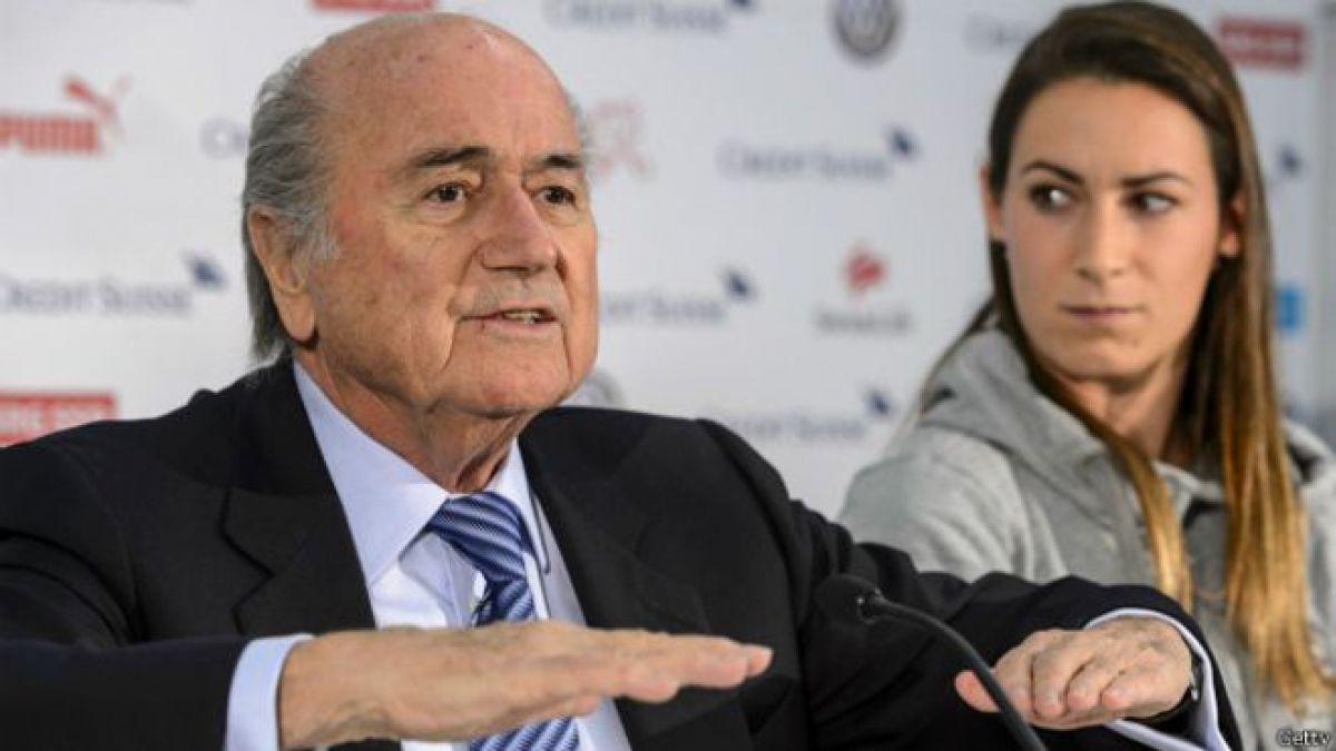 Joseph Blatter, el poderoso jefe de la FIFA que ha sobrevivido a todos los escándalos