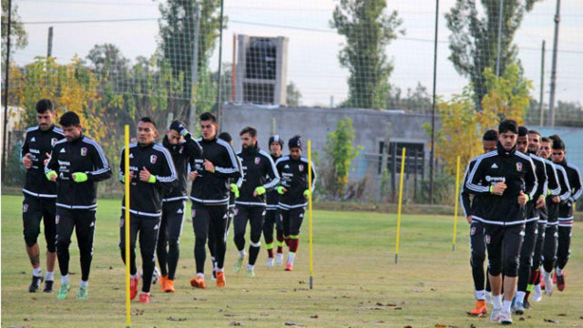 Venezuela recibe a jugador resentido en sus prácticas en Mendoza