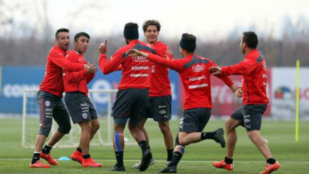 La Roja cumplió su quinto día de prácticas en Requínoa y este sábado vuelve a Santiago