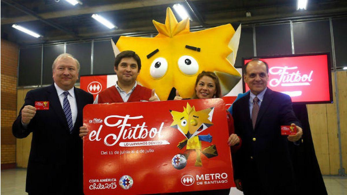 Metro lanza Bip Copa América y LAN aumenta paquetes aéreos para hinchas