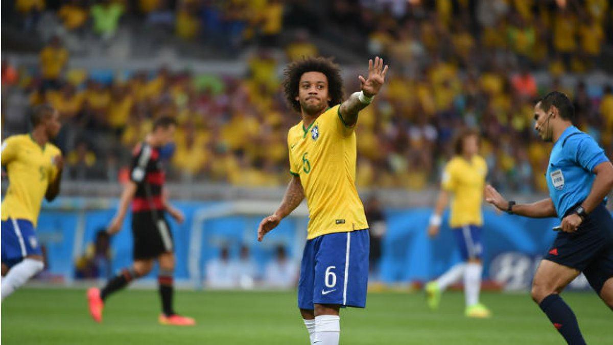 Otra baja para Brasil: Marcelo tuvo problemas médicos y quedó fuera de la Copa América