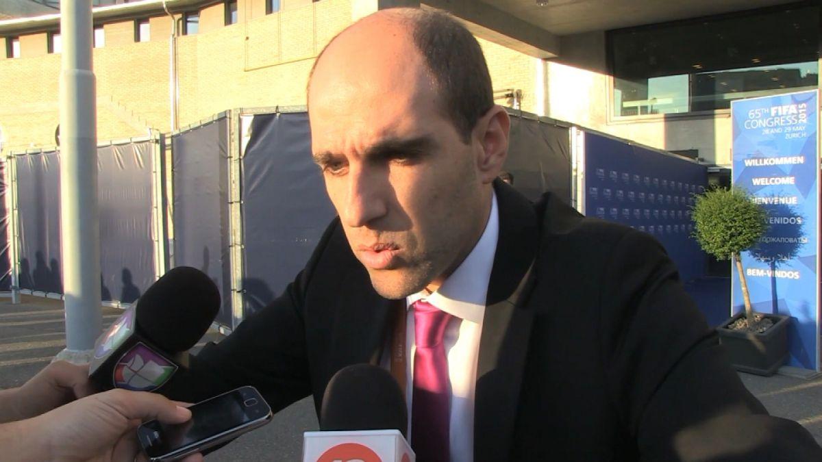 [VIDEO] Sergio Jadue dio las razones del porqué no votó por Blatter