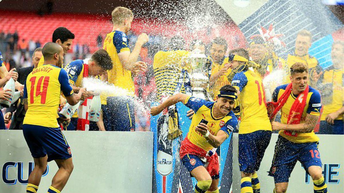 Arsenal y su celebración en Londres: Los más ganadores en la FA Cup