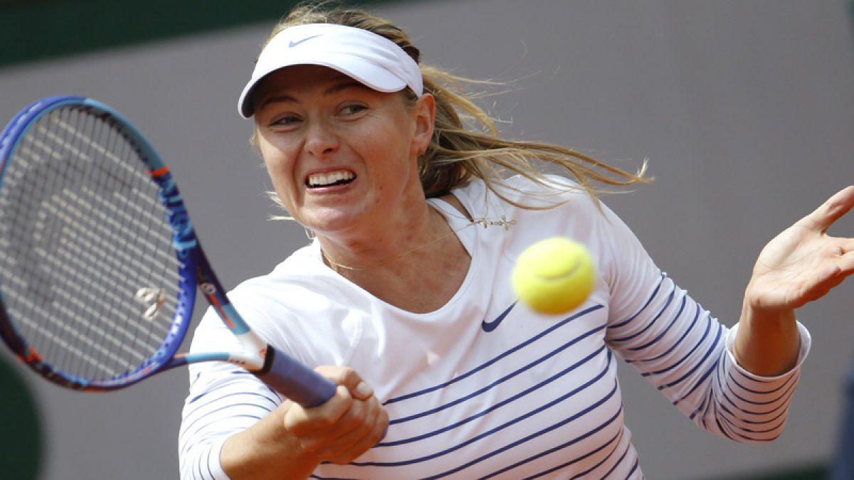 Sorpresa: Sharapova es eliminada en octavos de Roland Garros