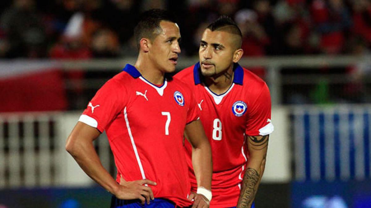 Estos son los números oficiales de las camisetas de Chile para Copa América