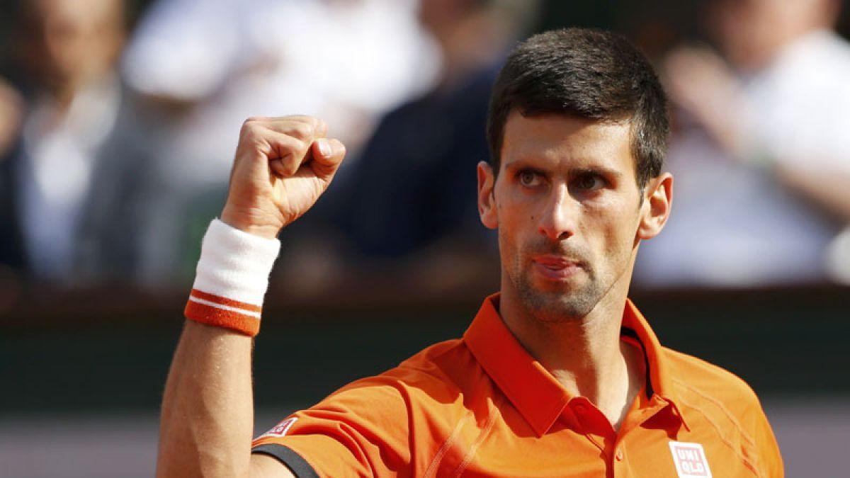 Novak Djokovic y Rafael Nadal chocarán en los cuartos de final de Roland Garros