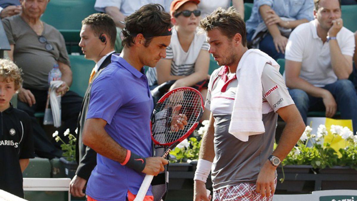 Federer le dice adiós a Roland Garros