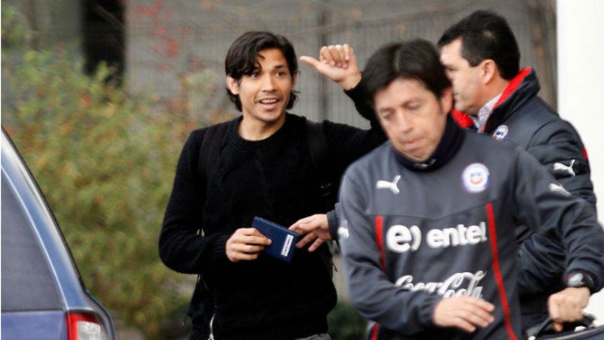 Matías Fernández llegó a Chile con una contractura en su pierna izquierda