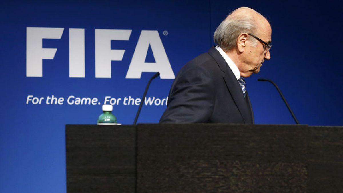Joseph Blatter: No renuncié, solo puse mi cargo a disposición