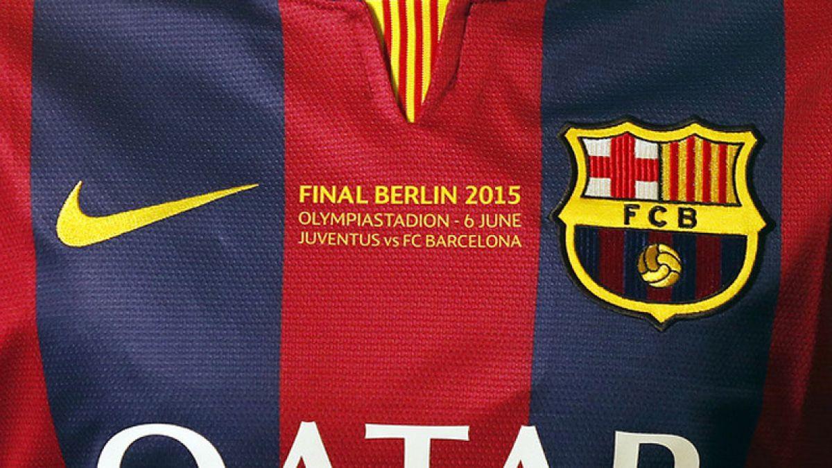 Las camisetas de FC Barcelona y Juventus para la final de la Champions League