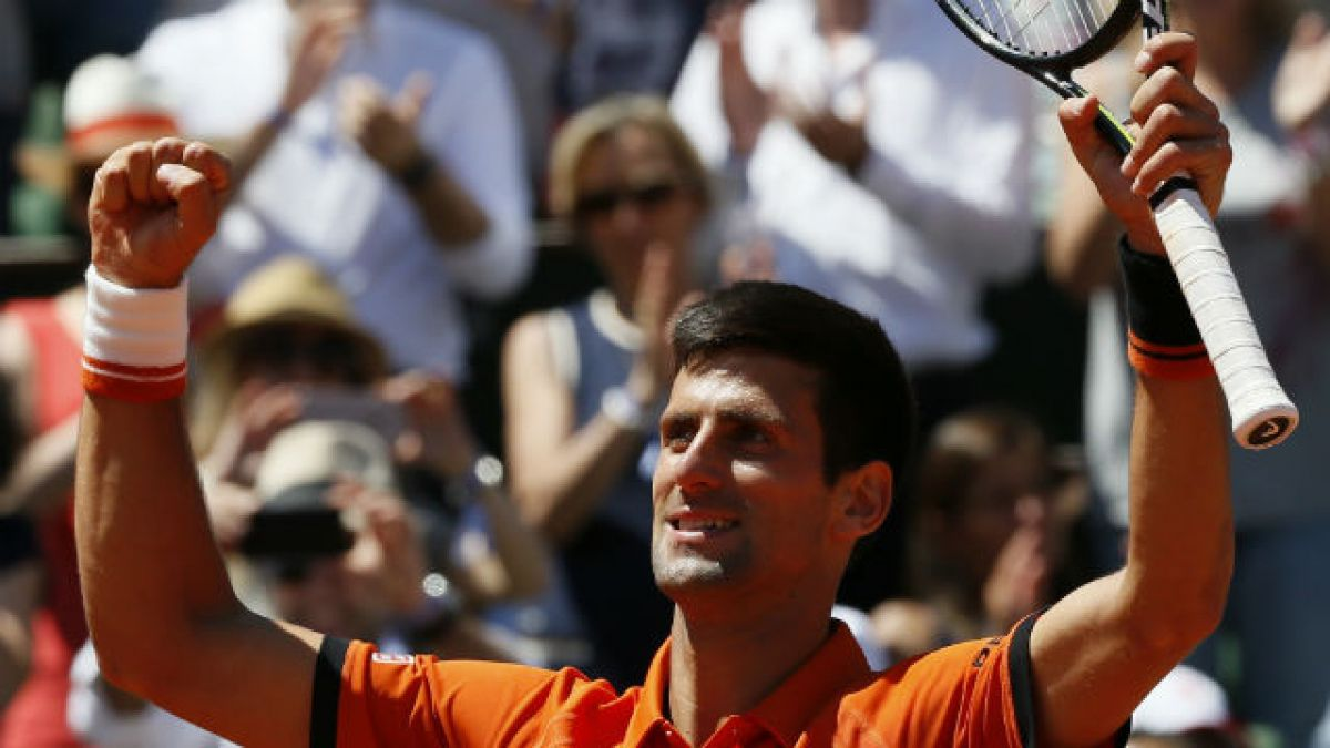 Novak Djokovic avanzó a la final de Roland Garros tras vencer a Andy Murray