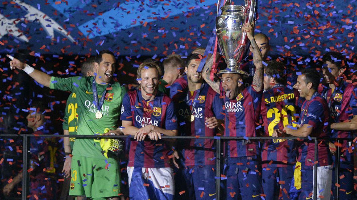 Claudio Bravo el primer chileno en ganar la Champions League