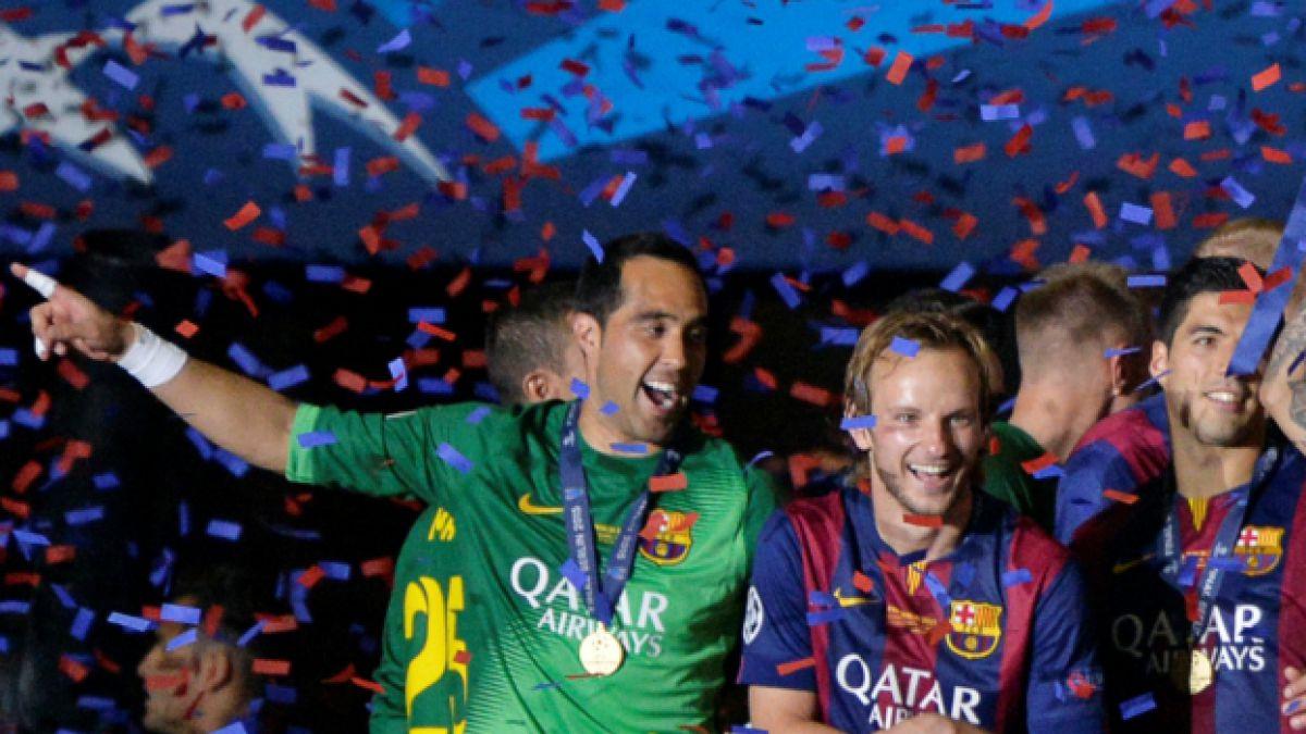 Bravo y la Champions: Estamos muy felices porque todo el equipo ha hecho un gran trabajo