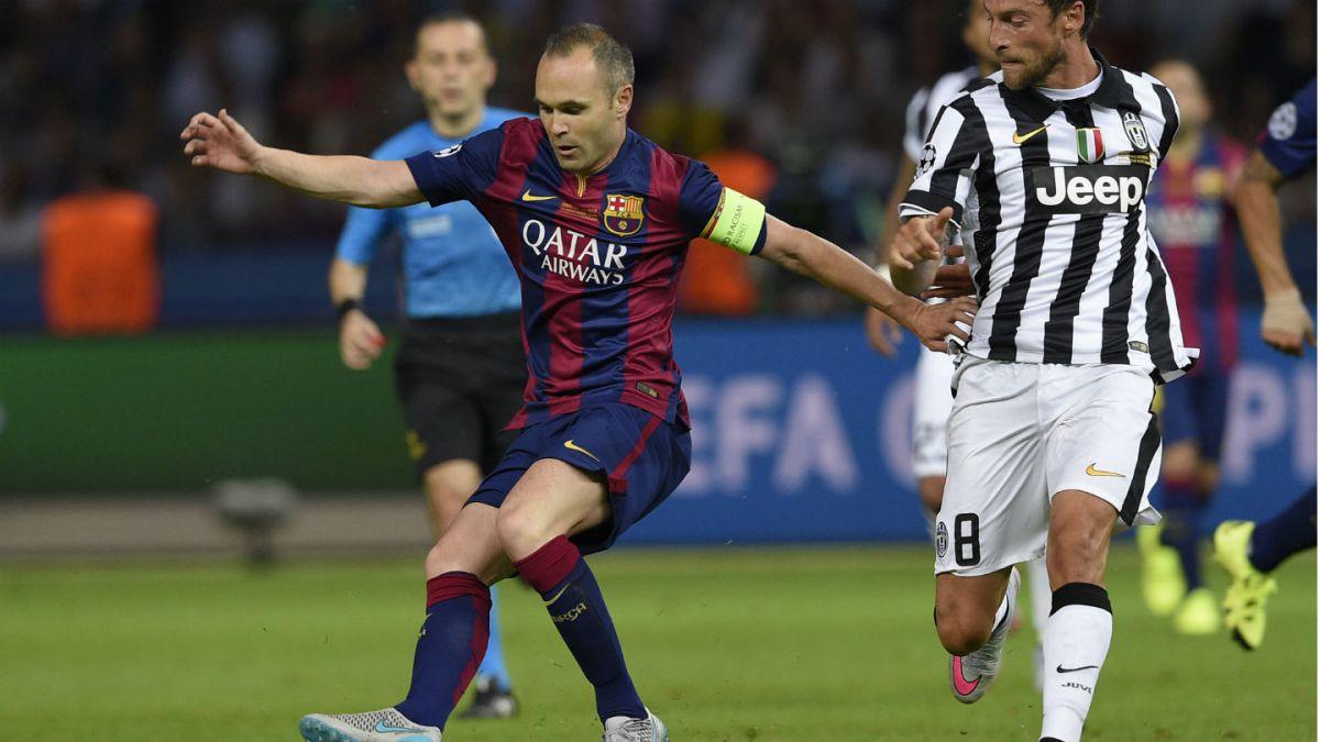 Andrés Iniesta es elegido el mejor jugador de la final de Champions