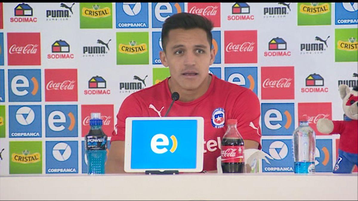 Alexis Sánchez: Tenemos los jugadores, estamos en casa y hay que mantener la calma