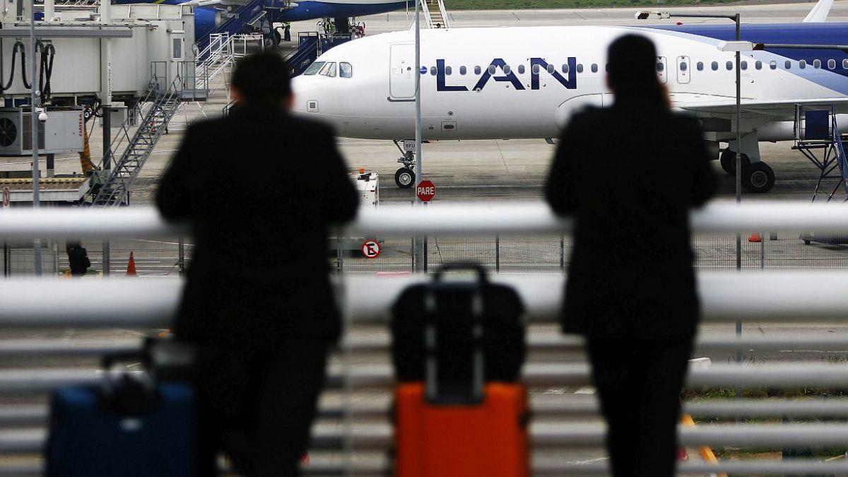 Estos son los vuelos de LAN que se verán afectados por el paro nacional en Argentina