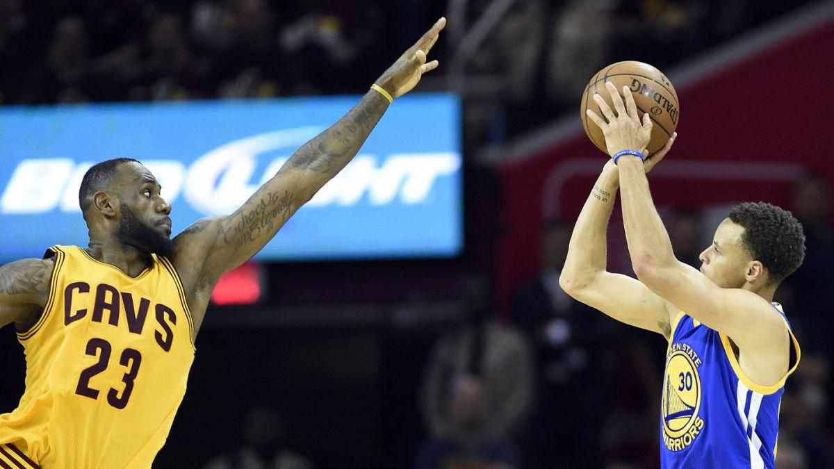 Cavaliers vence a los Warriors y saca ventaja en la gran final de la NBA