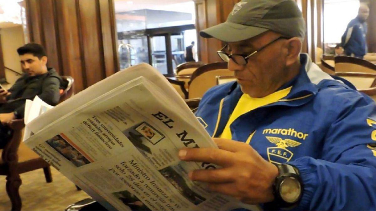 Rodrigo Figueroa: El chileno que es pieza clave en el cuerpo técnico de Ecuador