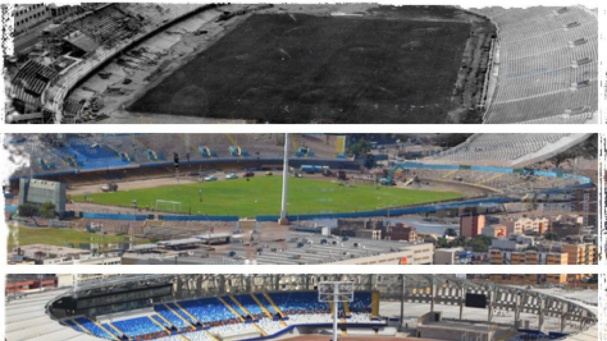 [Interactivo] Antes y después: cómo han cambiado los estadios de la Copa América