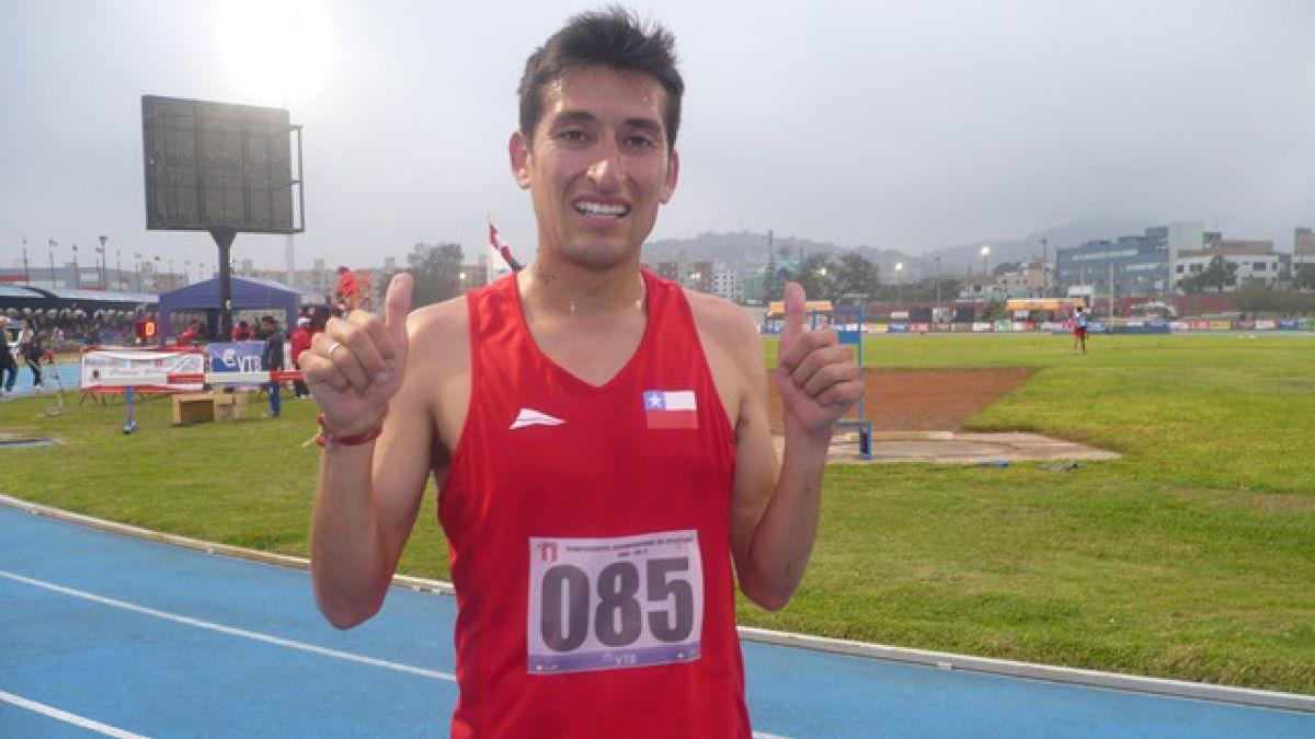 Víctor Aravena le dio el oro a Chile en los 5 mil metros en Sudamericano de Lima