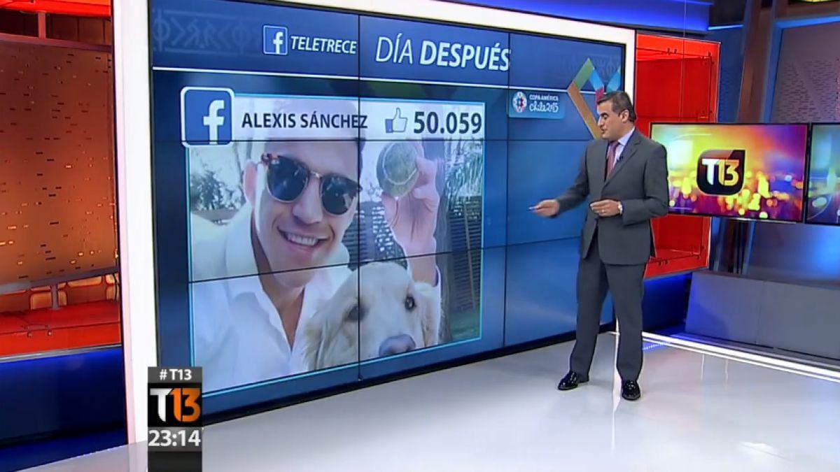 Facebook: El día después de Alexis Sánchez y Gary Medel en redes sociales