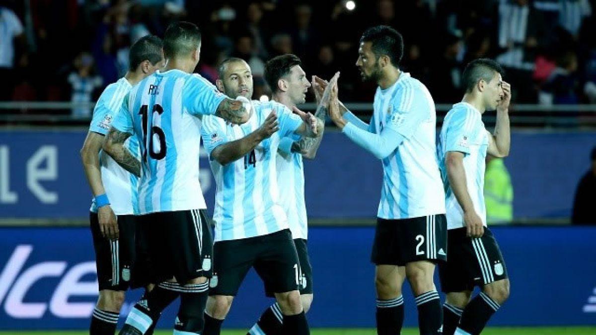 [VIDEO] Revisa el gol del partido entre Argentina y Jamaica