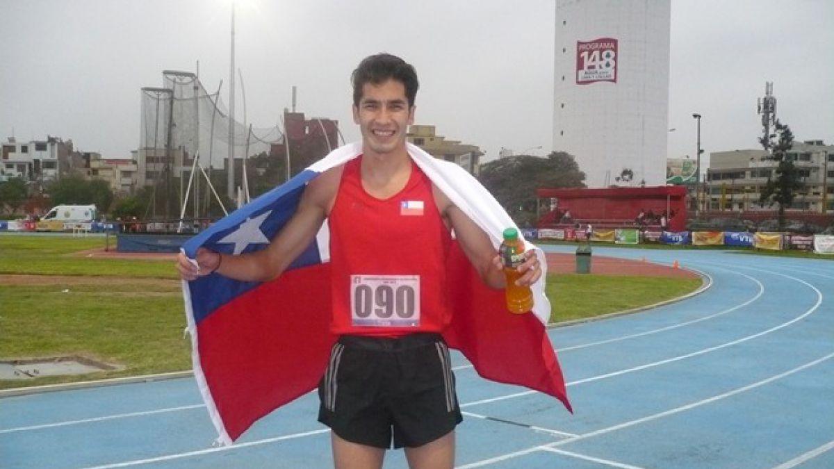 Carlos Díaz se inscribió en la historia con el oro en el Sudamericano en Lima