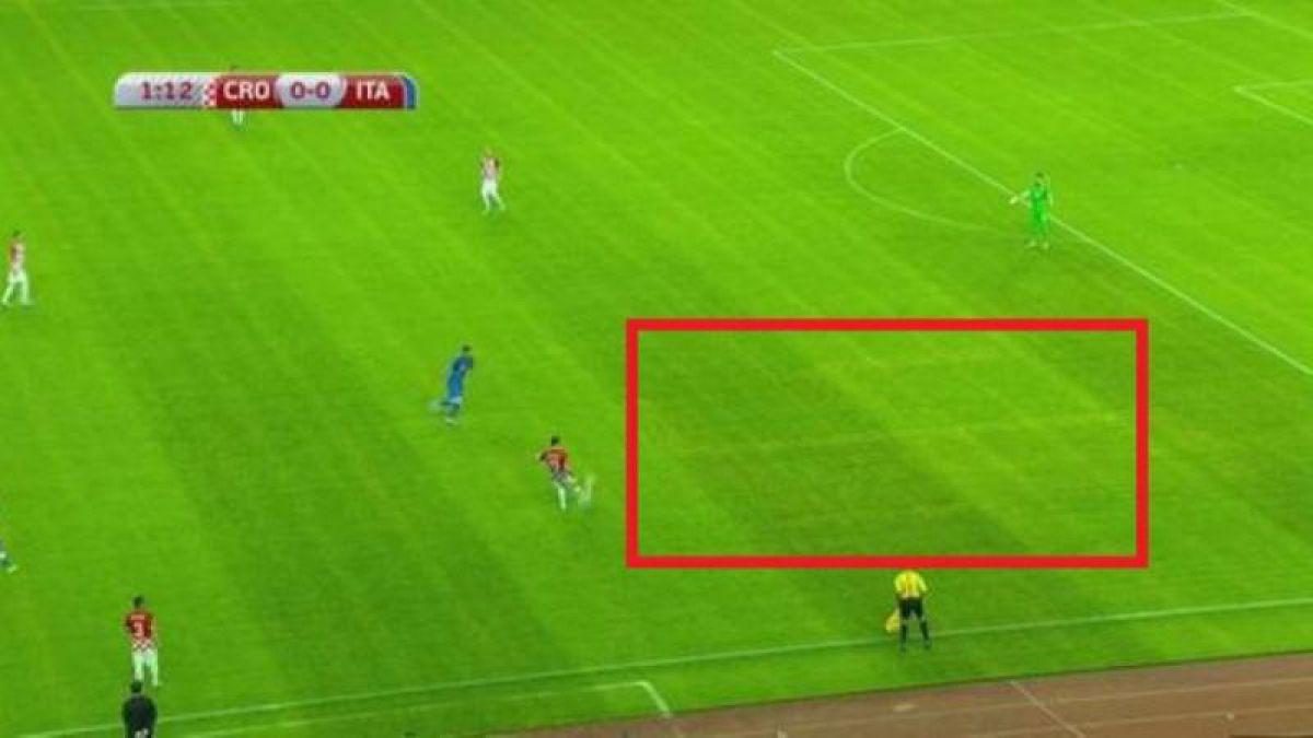 Federación croata pide disculpas por una esvástica en el césped de estadio