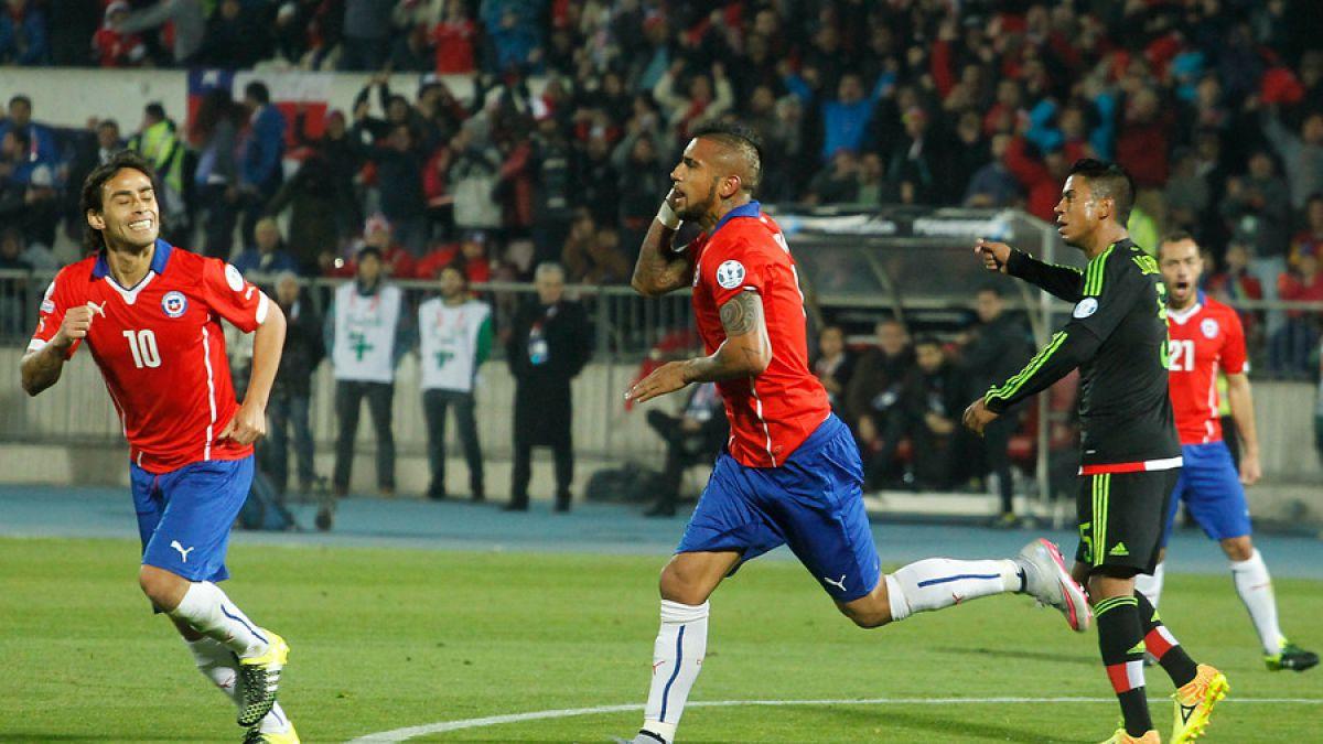 Arturo Vidal sigue inalcanzable como goleador de la Copa América 2015