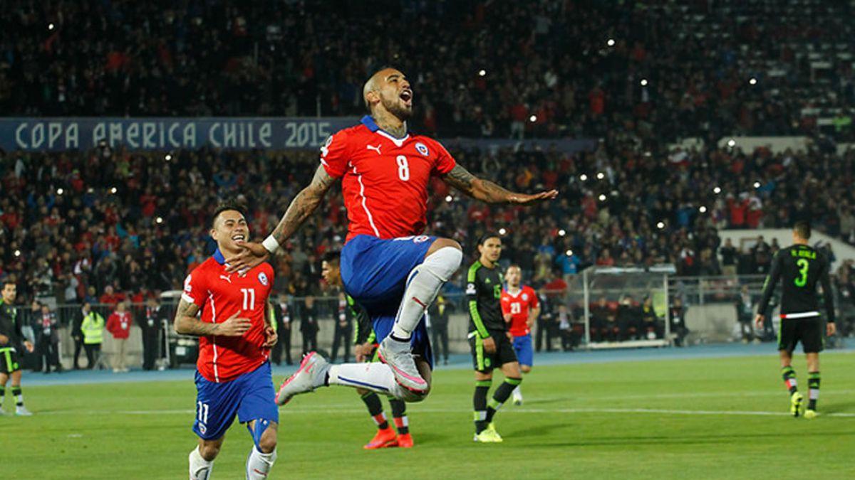 [VIDEO] Revisa los goles del empate 3-3 entre Chile y México
