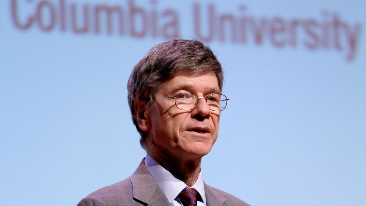 Jeffrey Sachs, economista estadounidense, director del Earth Institute de la Universidad de Columbia