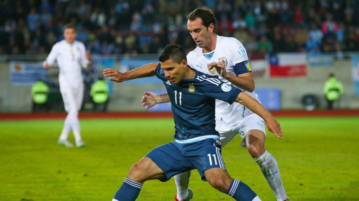 Copa América, Agüero y Godín