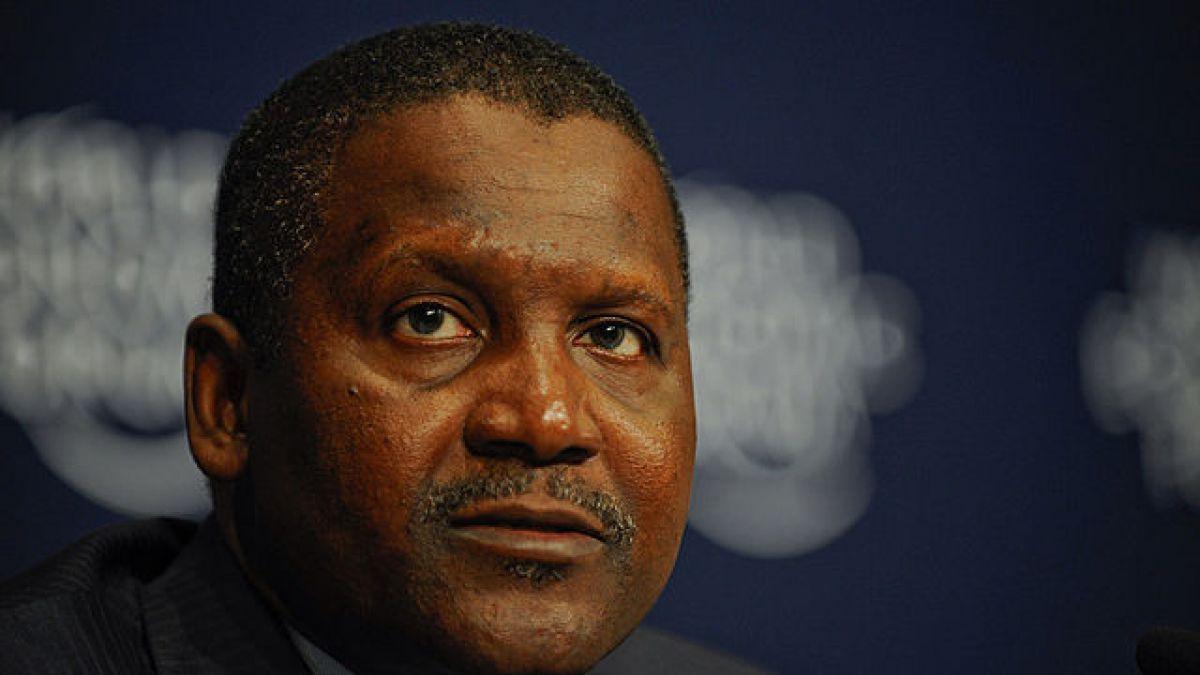 Aliko Dongote, el hombre más rico de África