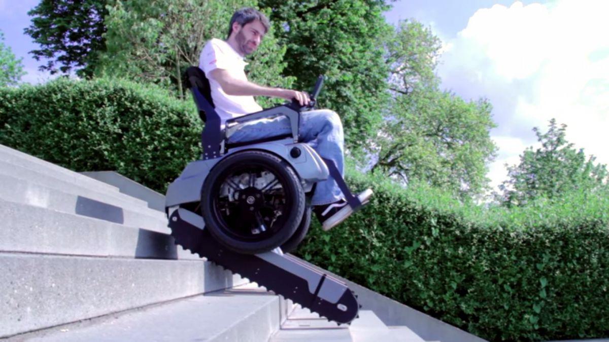 sillas de ruedas electricas que suben escaleras