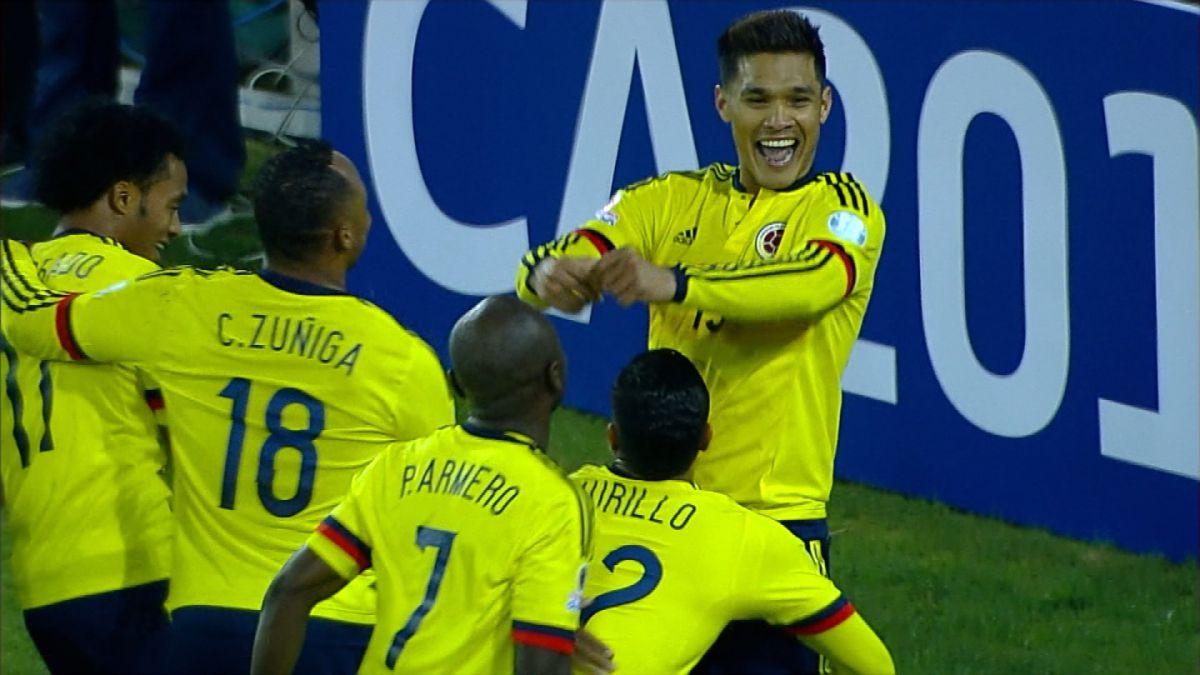[VIDEO] Revisa el gol del partido entre Brasil y Colombia