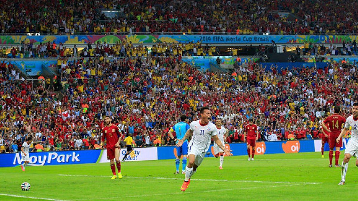 Hoy se cumple un año desde el histórico triunfo de Chile sobre España en el Estadio Maracaná