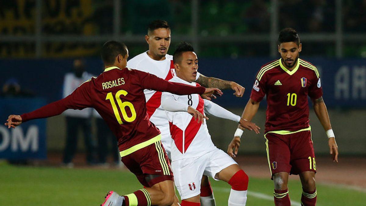 [VIDEO] Revisa el gol del partido entre Perú y Venezuela