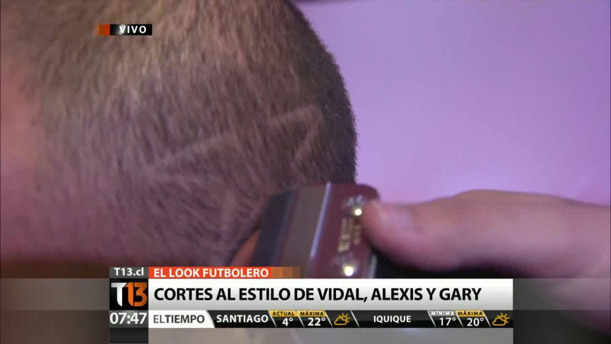 El look futbolero: Corte de pelo de Alexis Sánchez es el más solicitado