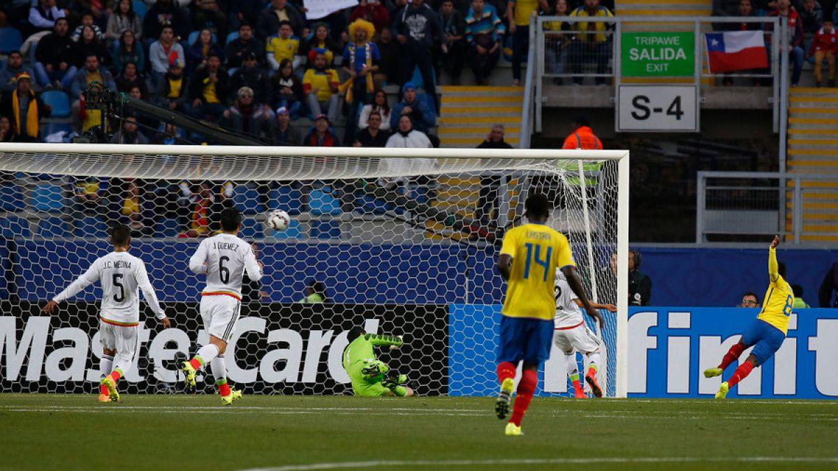 [VIDEO] Revisa los goles del partido entre México y Ecuador