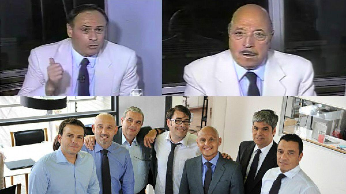 Alberto Fouillioux, Julio Martínez y Área Deportiva de Canal 13