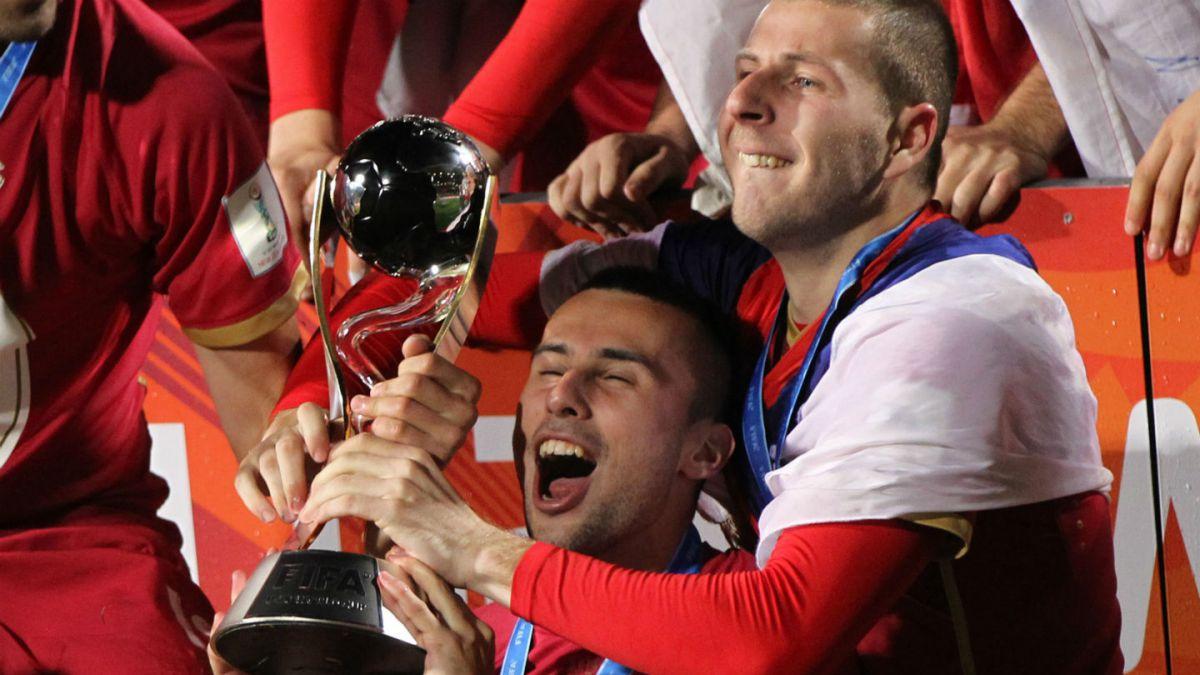 Serbia venció a Brasil y es campeona del Mundial Sub 20