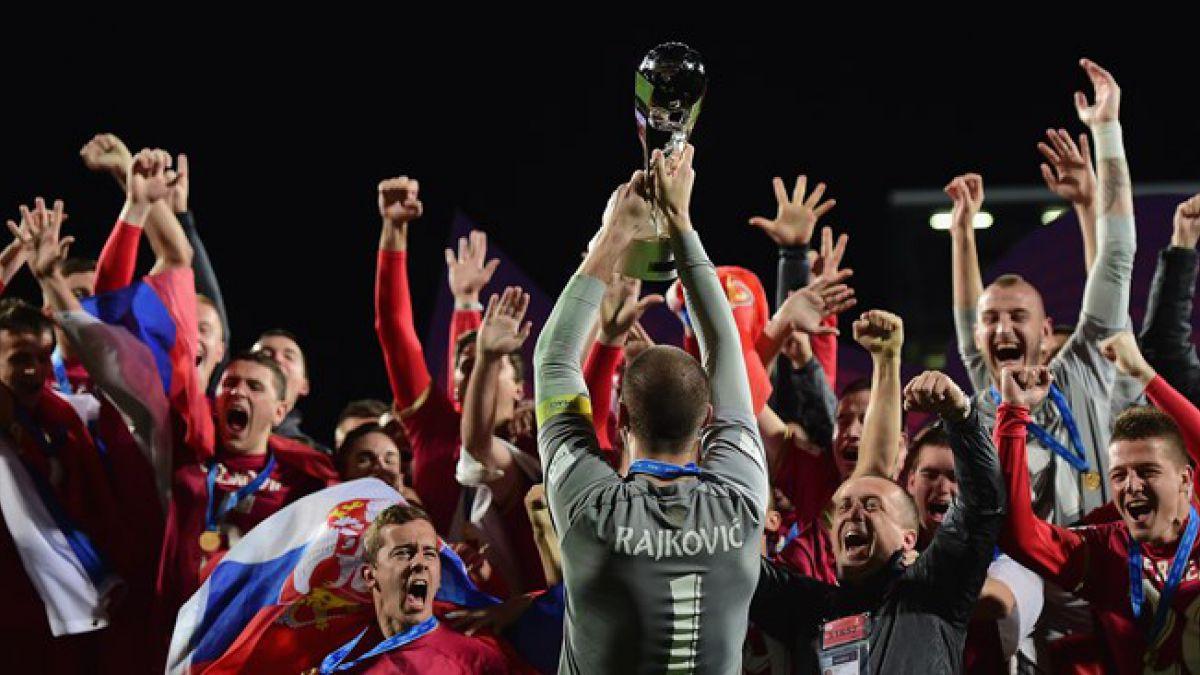 Serbia vence a Brasil en el alargue y consigue el título en el Mundial Sub 20