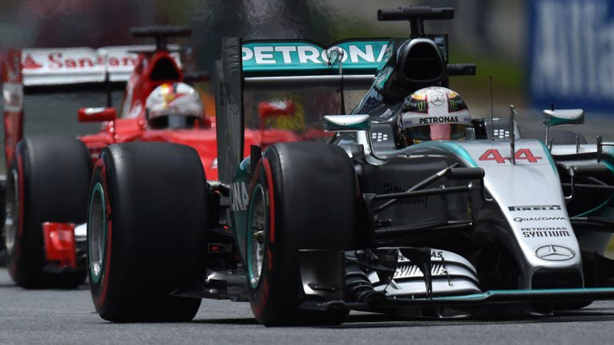 Hamilton con categoría se quedó con la Pole Position del Gran Premio de Austria