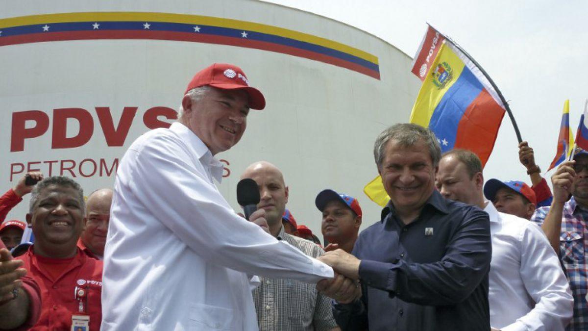 Petroleras estatales de Venezuela y Rusia constituirán empresa mixta