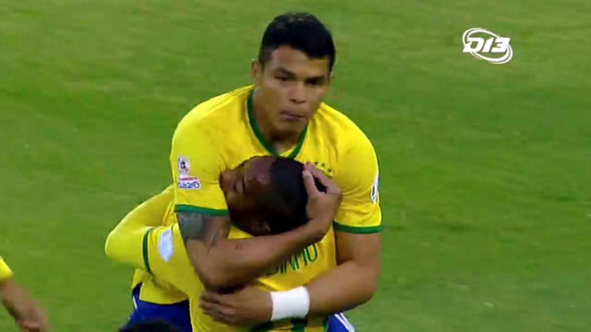 [VIDEO] Revisa los goles del partido entre Brasil y Venezuela