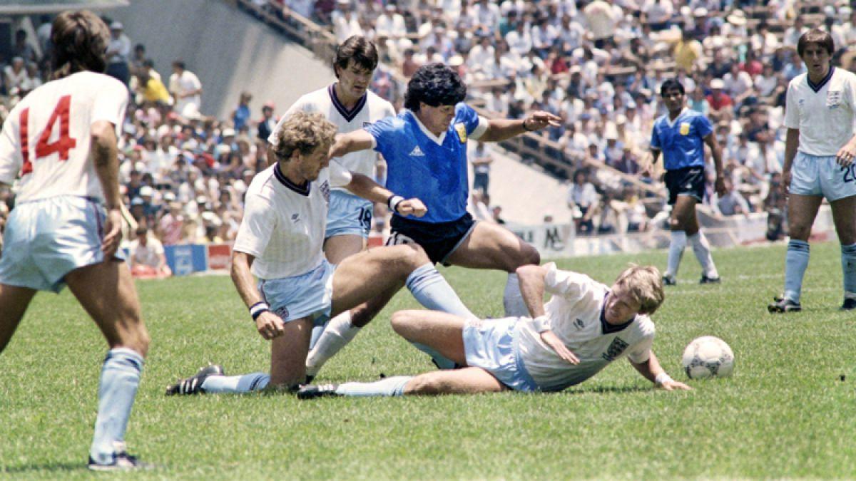 [VIDEO] Diego Maradona recuerda sus goles a Inglaterra en México 1986