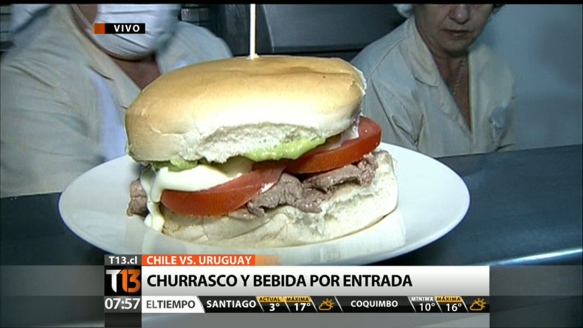 [VIDEO] Local de sandwichs regalará churrascos y bebidas a hinchas que asistan al Nacional