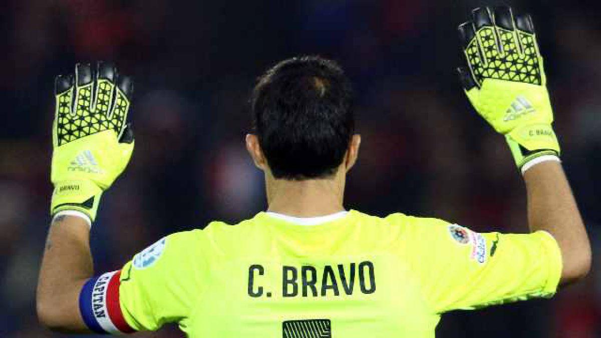 Claudio Bravo en Copa América 2015