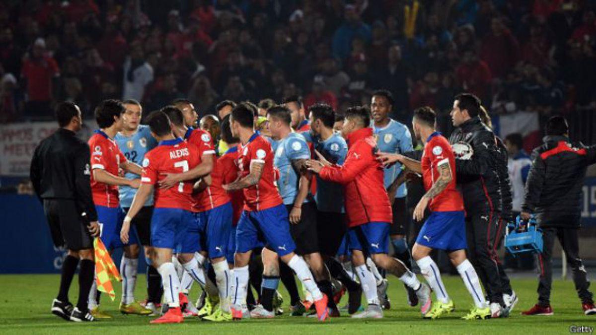 Copa América: Las acaloradas polémicas que generó el duelo entre Chile y Uruguay