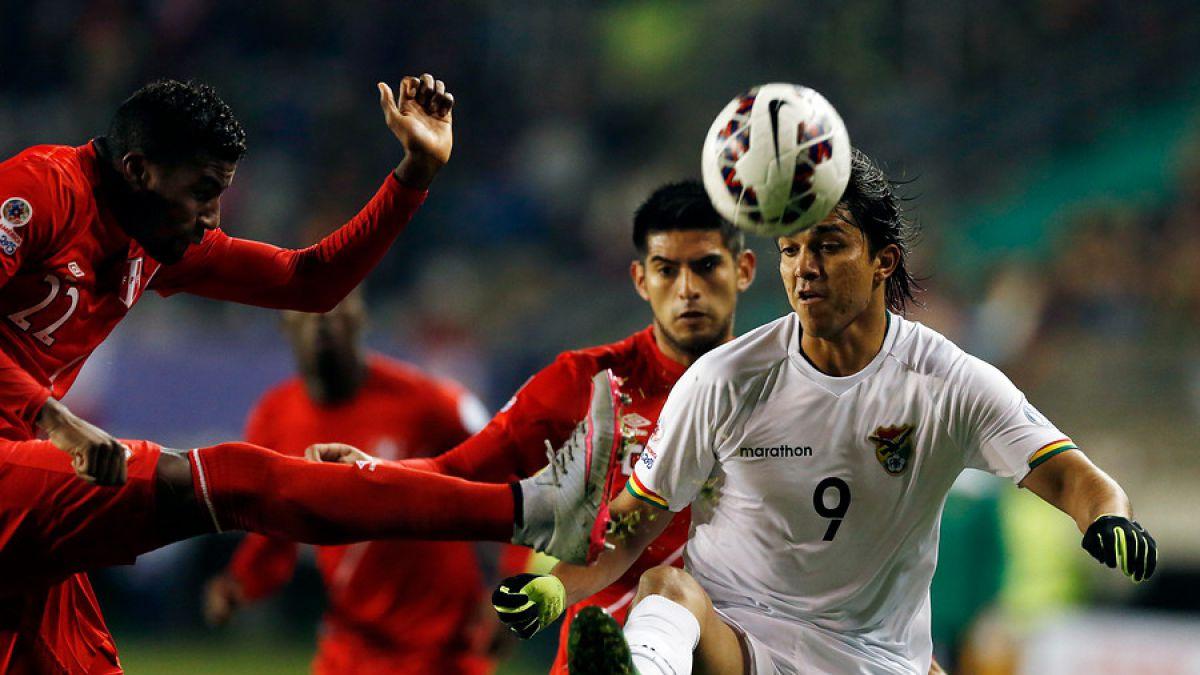 Perú versus Bolivia por Copa América